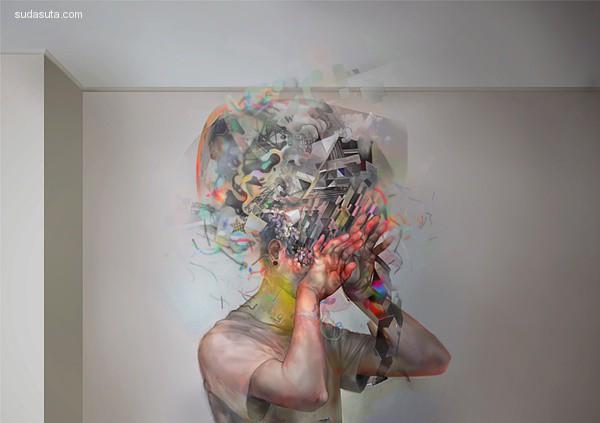 非 神经质的人像绘画作品