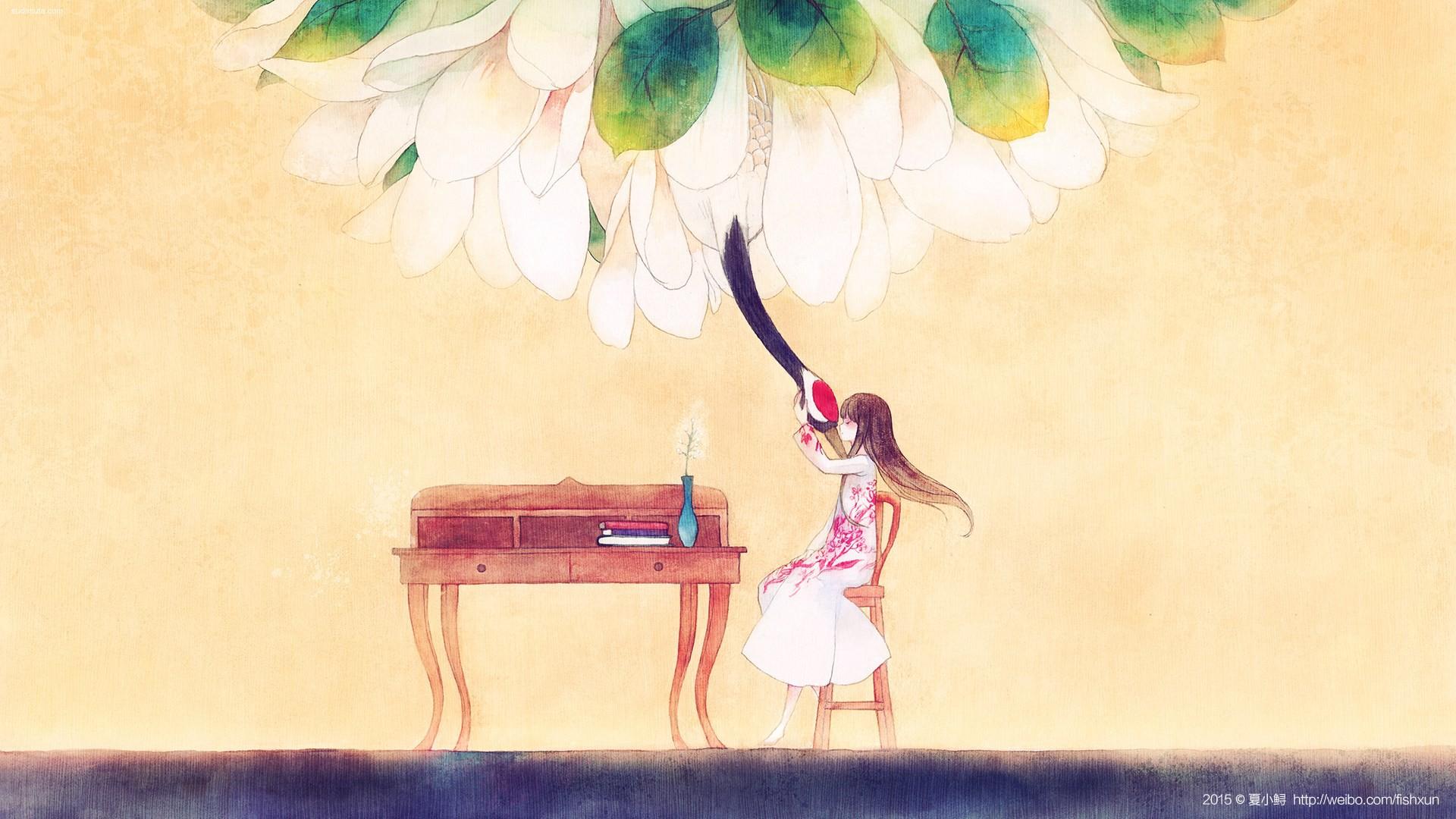 夏小鲟 原创手绘漫画欣赏