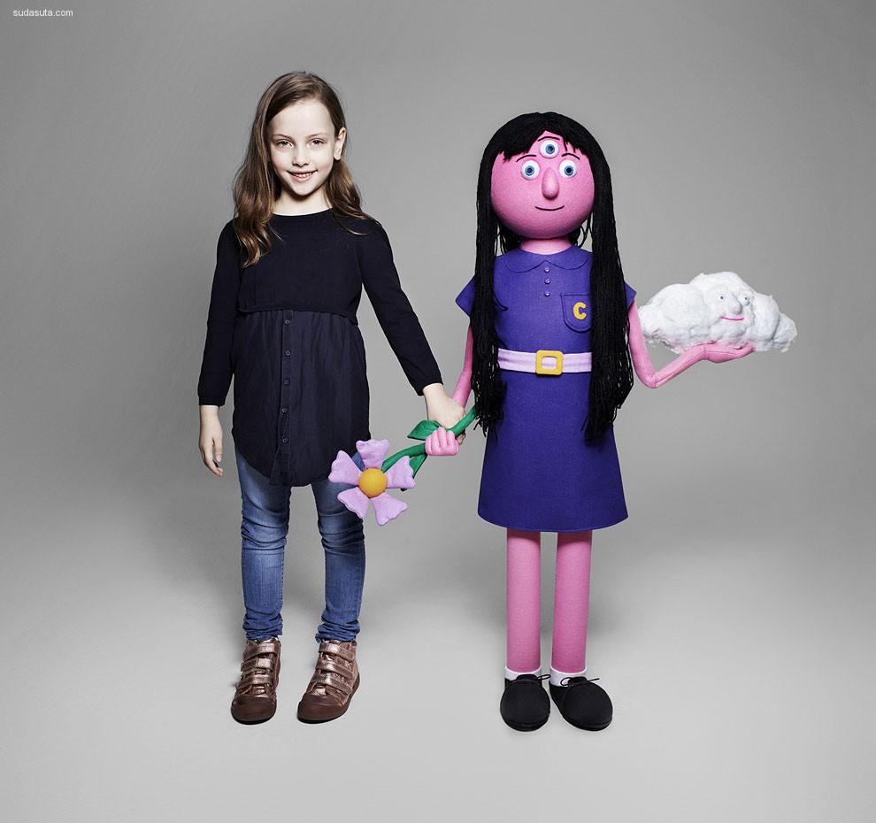 当想象成真 孩子们虚拟的好朋友