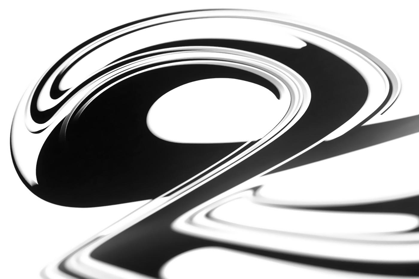 Anthony James 抽象字体设计欣赏