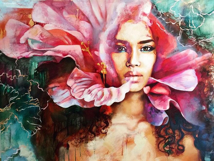 Dimitra Milan 描绘梦的绘画艺术