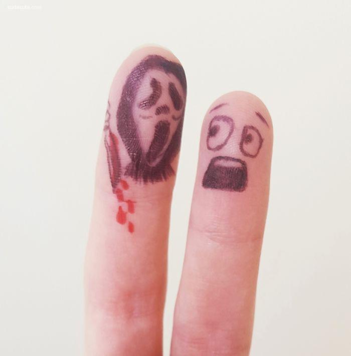 有趣的手指游戏