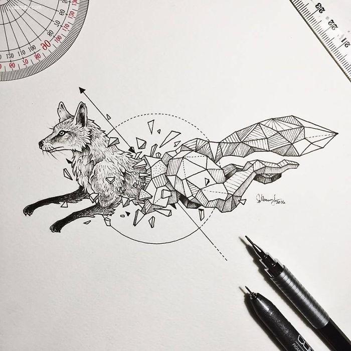 Geometric Beasts 动物解构