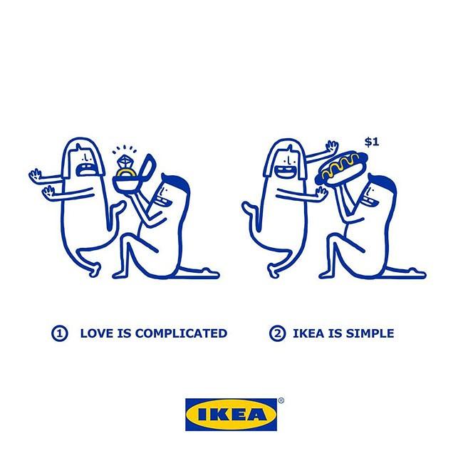 爱情是复杂的,宜家是简单的