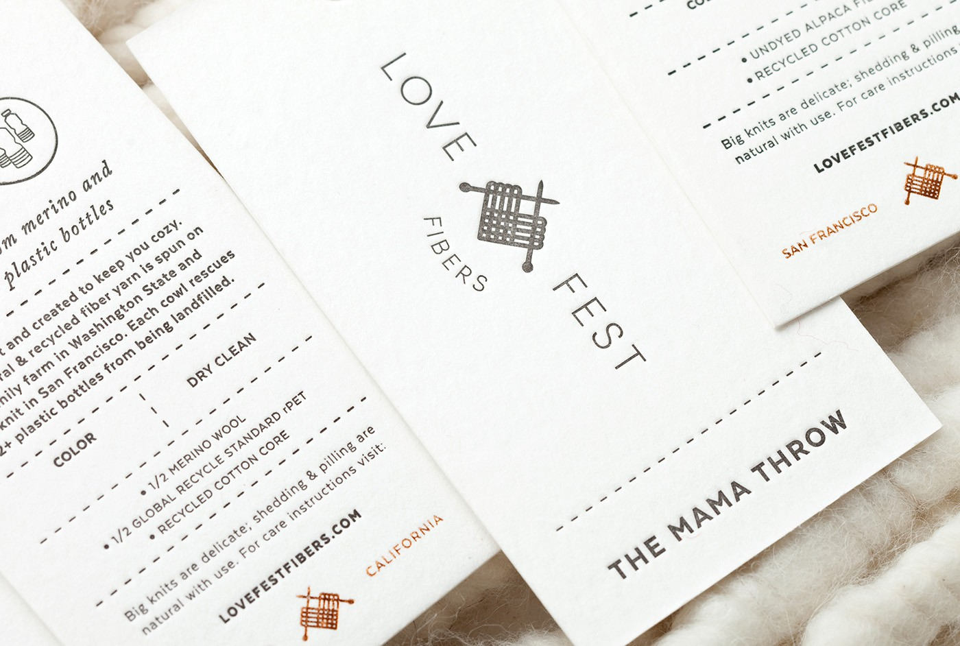 Love Fest Fibers 品牌设计欣赏