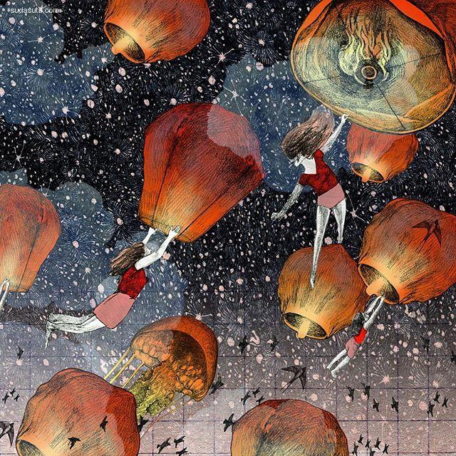 Lucille Clerc 绘画艺术欣赏
