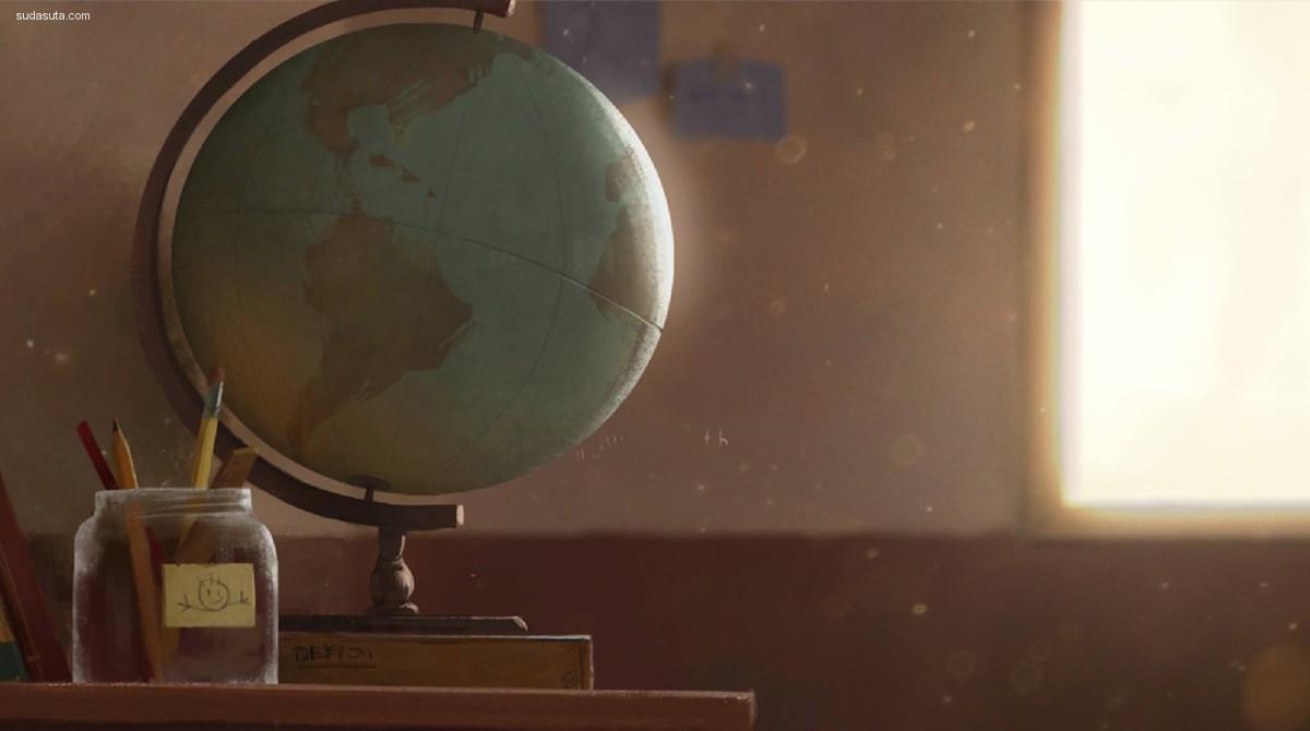 The Wide World 插画作品欣赏
