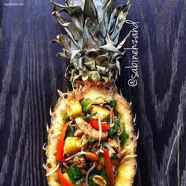 Sabinehzand 华丽丽的美食艺术