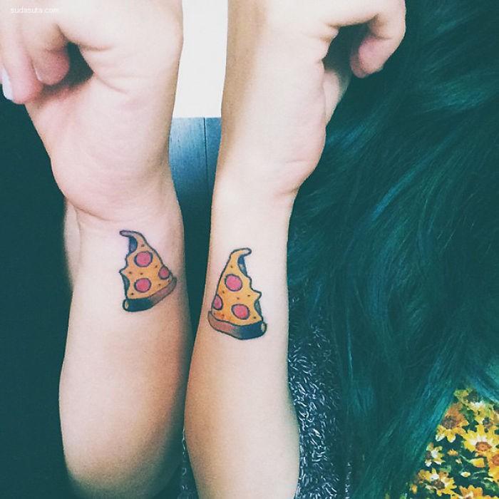 姐们们的纹身很happy