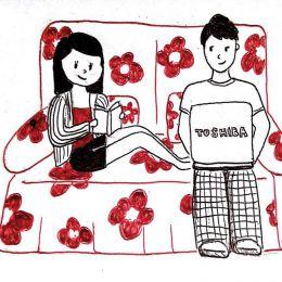 Viola 长距离恋爱的绘本