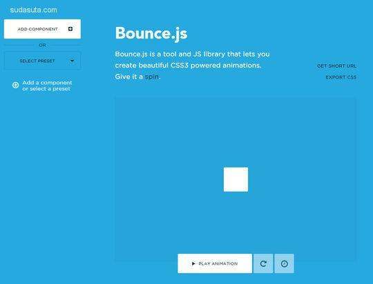 11个 CSS3动画工具 适用于开发人员