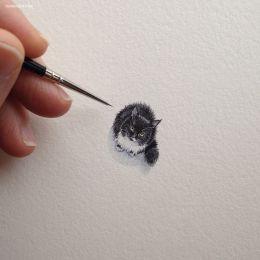Brooke Rothshank 迷你手绘艺术