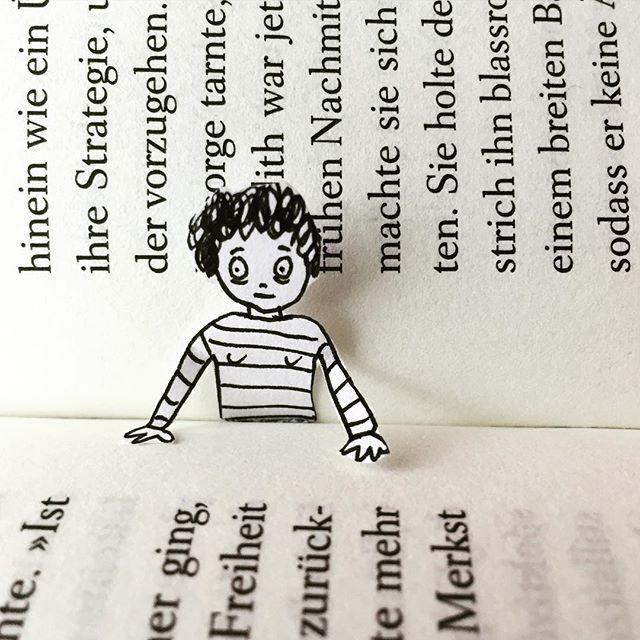 doro ottermann 幽默可爱的创意纸片小人