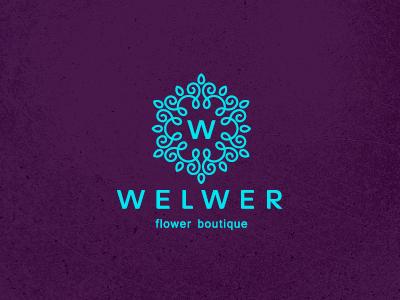 创意LOGO设计欣赏 花朵盛开