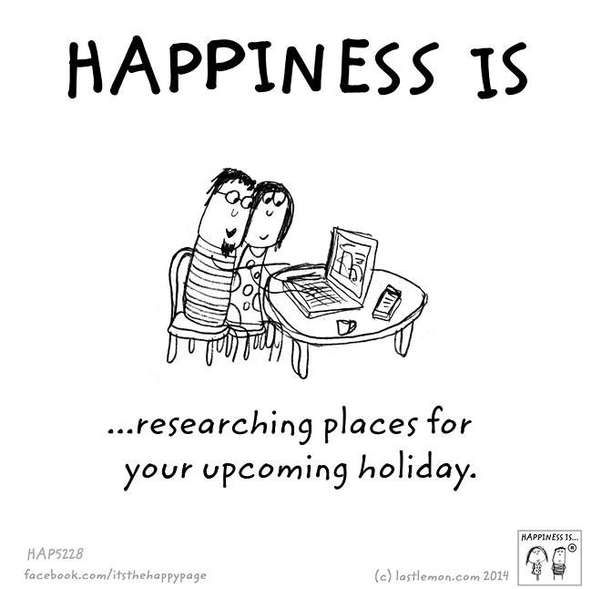 快乐是什么?卡通漫画欣赏