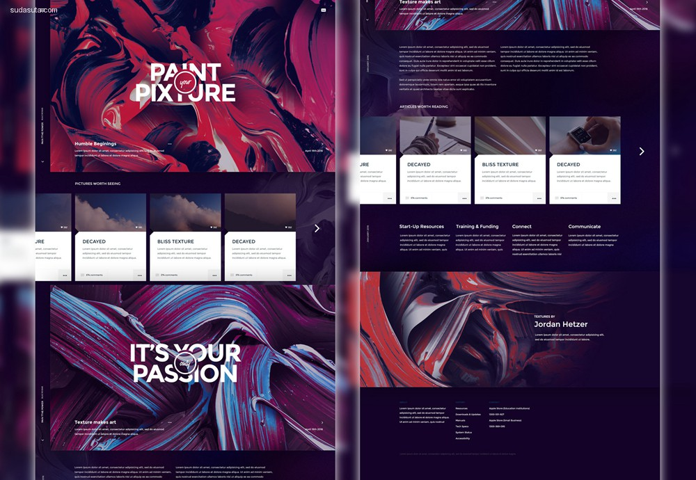 55个最新的设计资源免费下载
