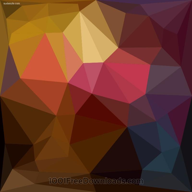 19个扁平化风格的矢量插画免费下载