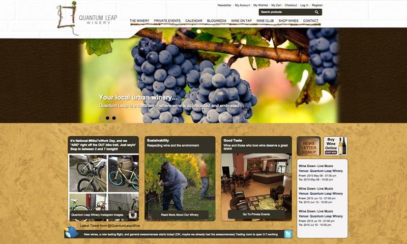 35个葡萄园和酒厂的网站设计欣赏