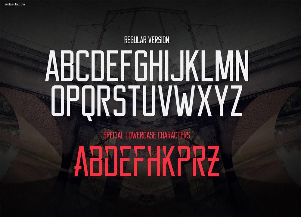 15个大写标题字体下载
