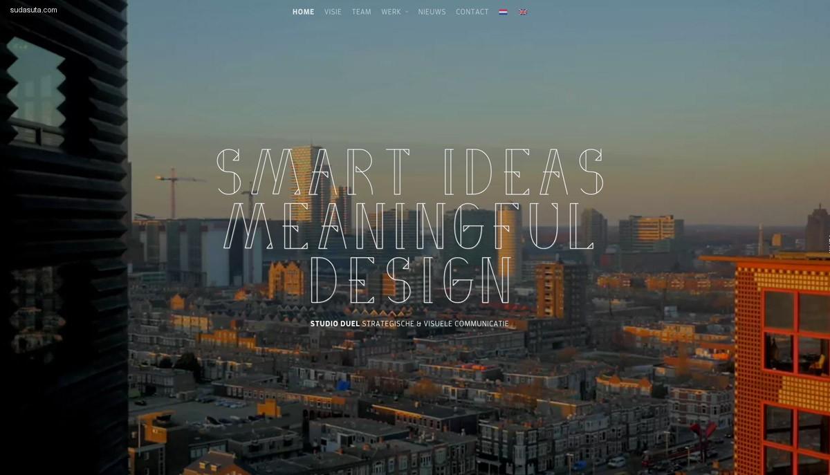 15个令人印象深刻的网站设计欣赏