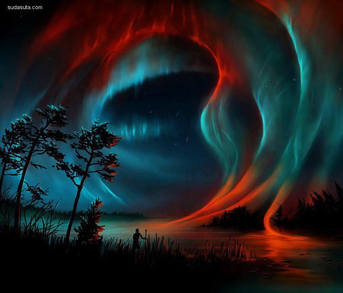 Aerroscape 数字艺术作品欣赏