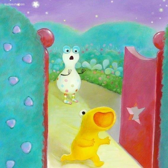 Alison Edgson 温馨可爱的儿童插画欣赏