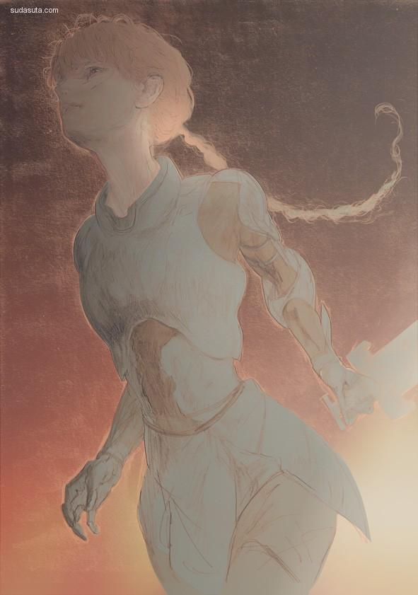 Ayu Nakata 敏感的手绘艺术欣赏