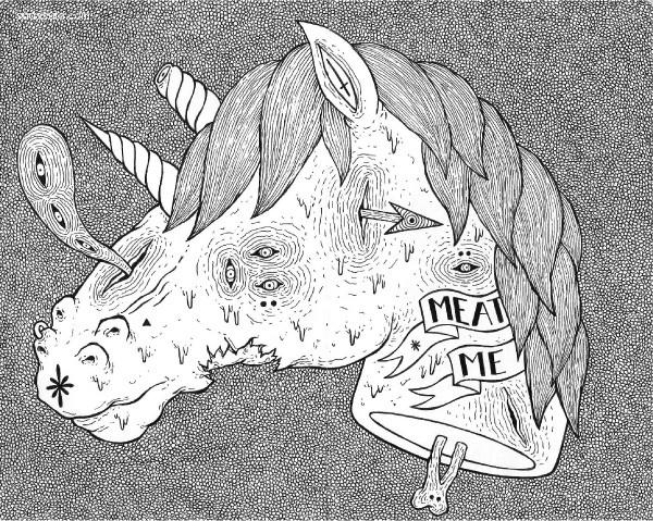 Raul Ramirez 古怪潮流的插画作品
