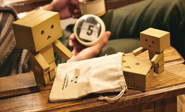 CHEERO的店 纸盒人的生活很有爱