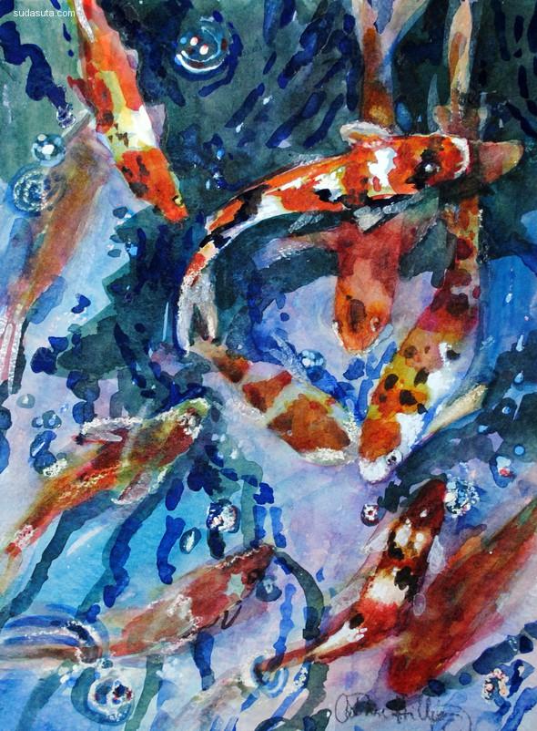 Catherine Hillis 手绘艺术欣赏