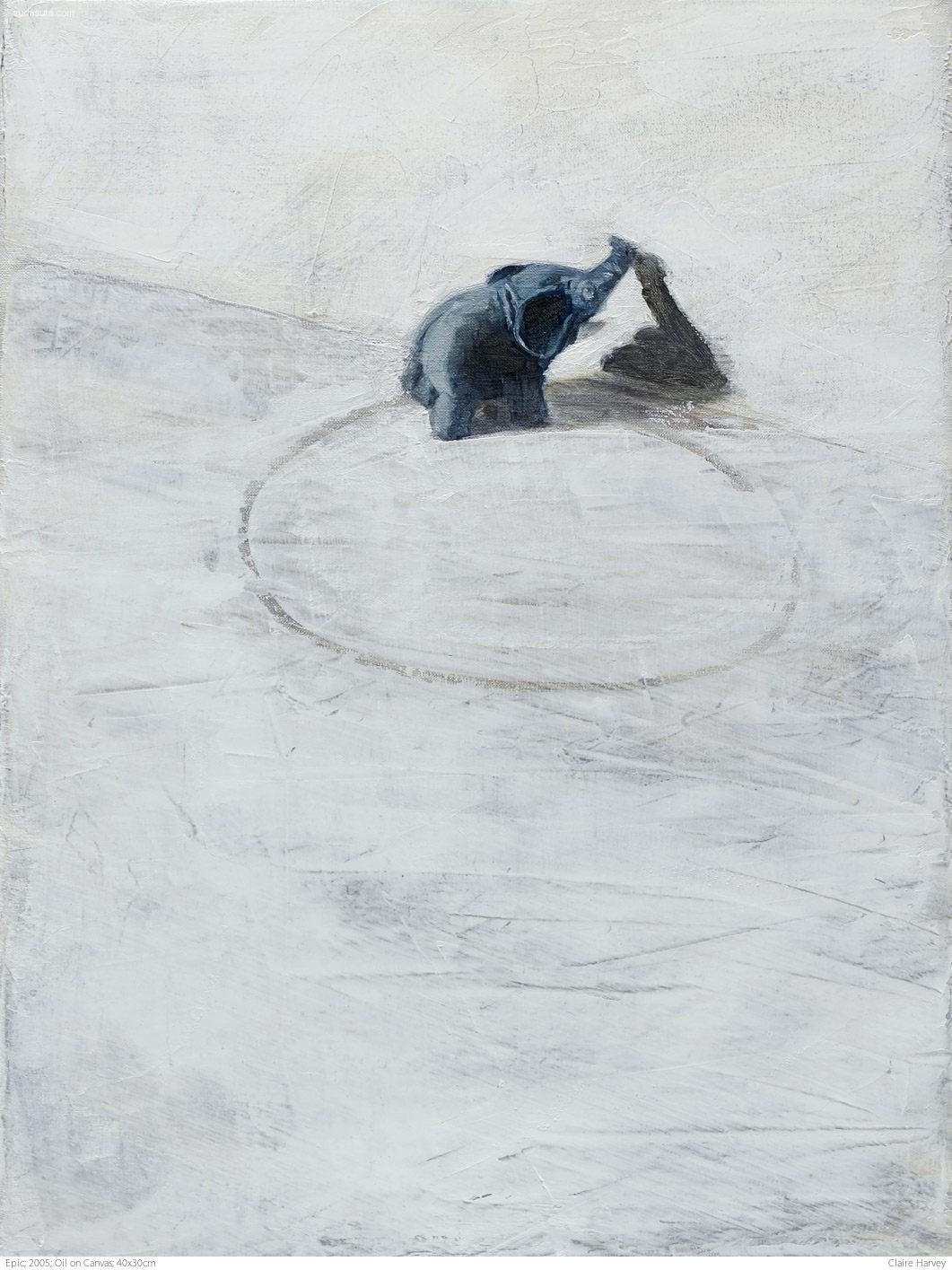 Claire Harvey 寂寞孤独的绘画艺术