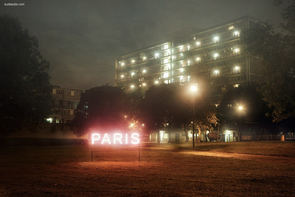David Drake 霓虹灯 装置设计欣赏