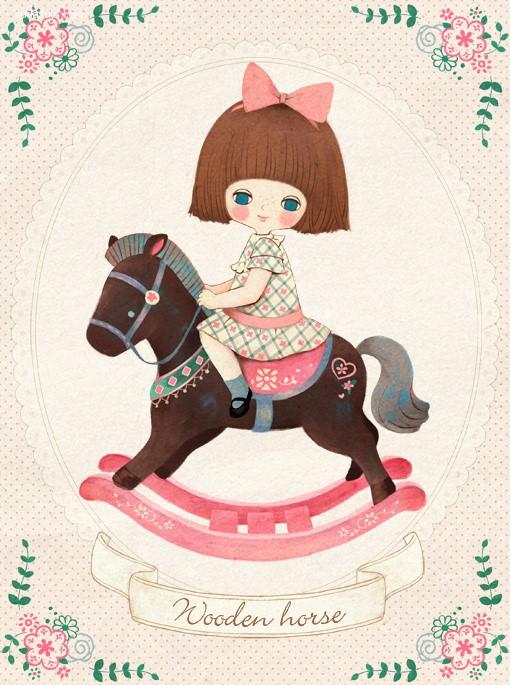 Hersberry 甜美可爱的儿童插画欣赏