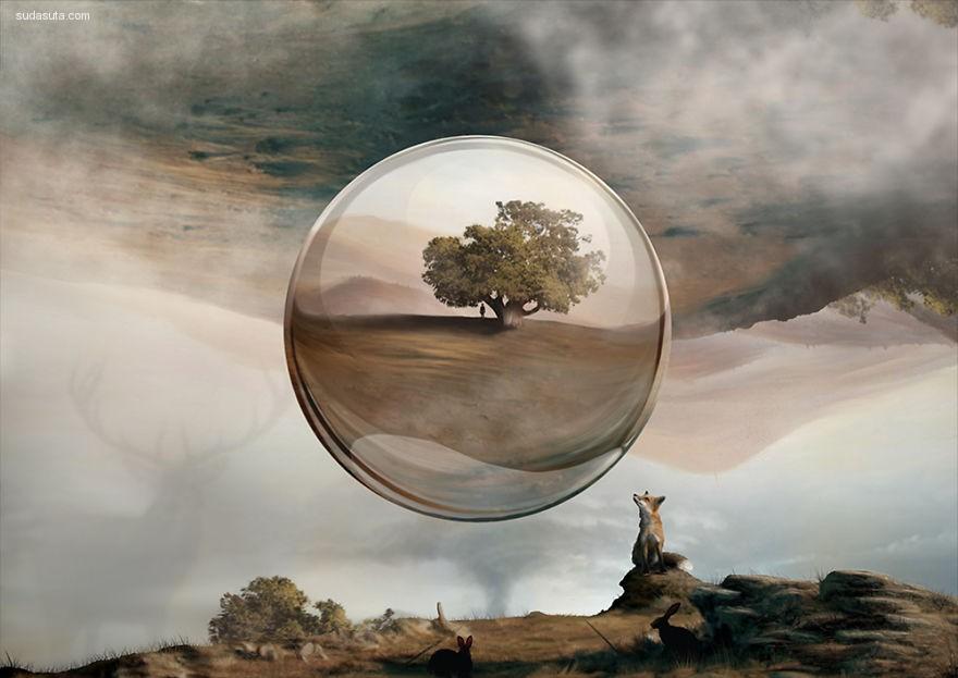 Jaime Sanjuan 超现实主义绘画艺术欣赏