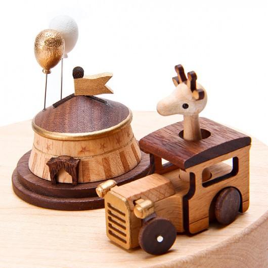 Jeancard旋转木马音乐盒 送给你的礼物