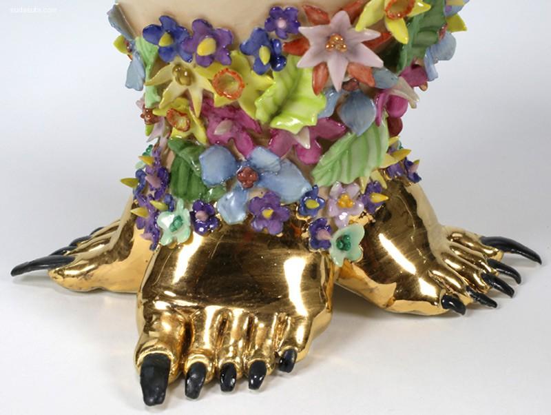 Jessica Stroller 陶瓷艺术欣赏