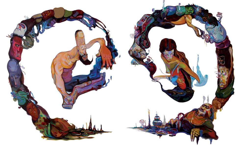 Jose Mertz 混合绘画艺术欣赏
