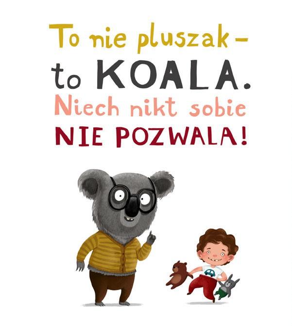 Emilia Dziubak 儿童插画《考拉不允许》
