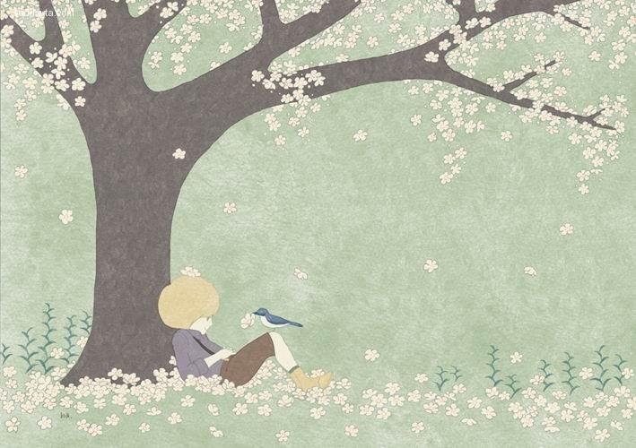 小池葉月 小王子的歌 儿童插画欣赏