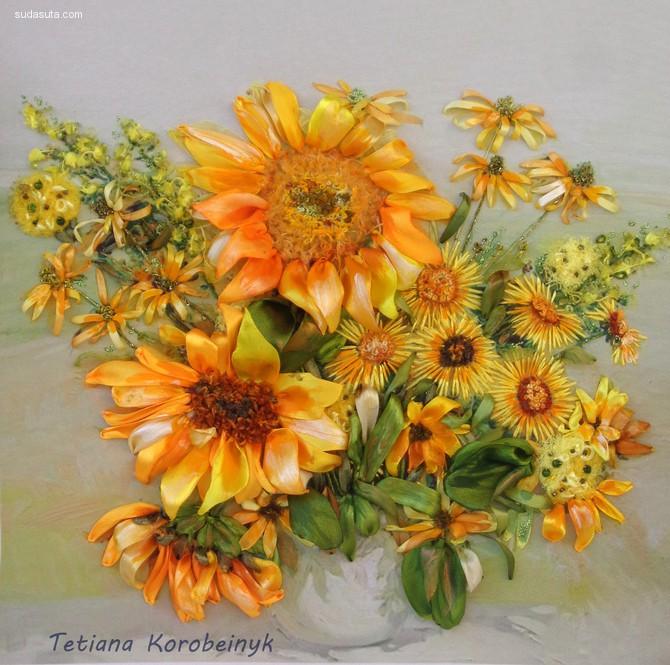花朵艺术家 Tetiana Korobeinyk