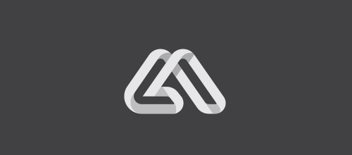 40+ 带有重叠元素的创意LOGO标志设计欣赏