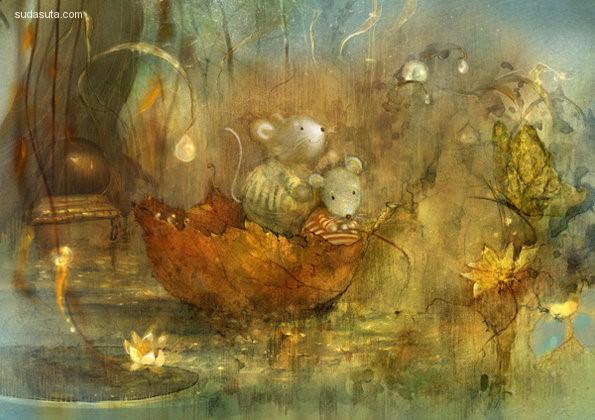 Polina Yakovleva 如梦般的童话世界