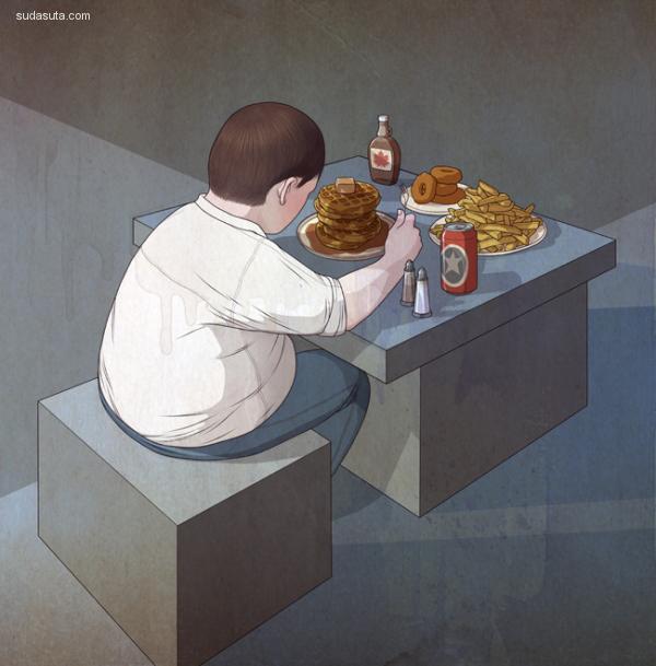 Richard Wilkinson 商业插画欣赏
