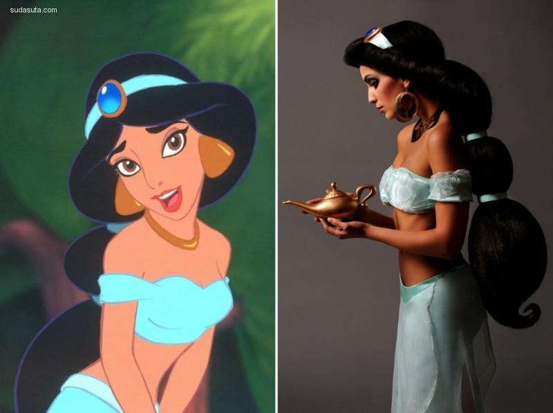 Ryan Astamendi 迪士尼公主COSPLAY欣赏