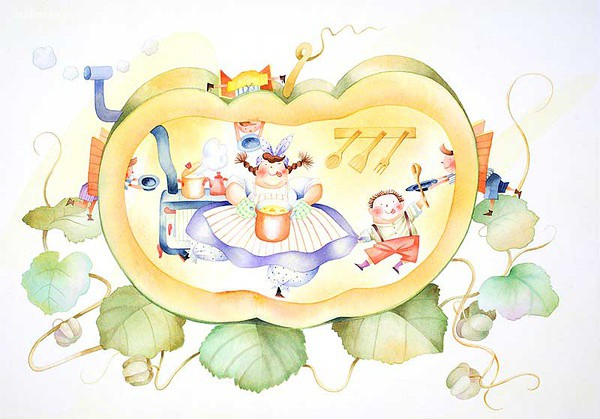 崎トシ子 儿童插画欣赏