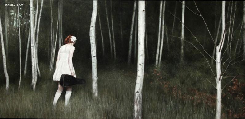 Shaun Downey 肖像绘画艺术欣赏