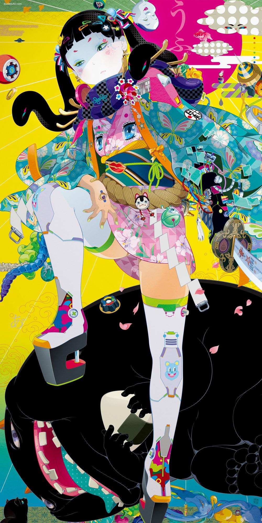 タカハシヒロユキ 青春与色彩 卡通漫画作品欣赏