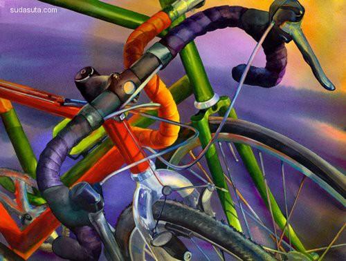 Terri Hill 超现实主义静物插画欣赏