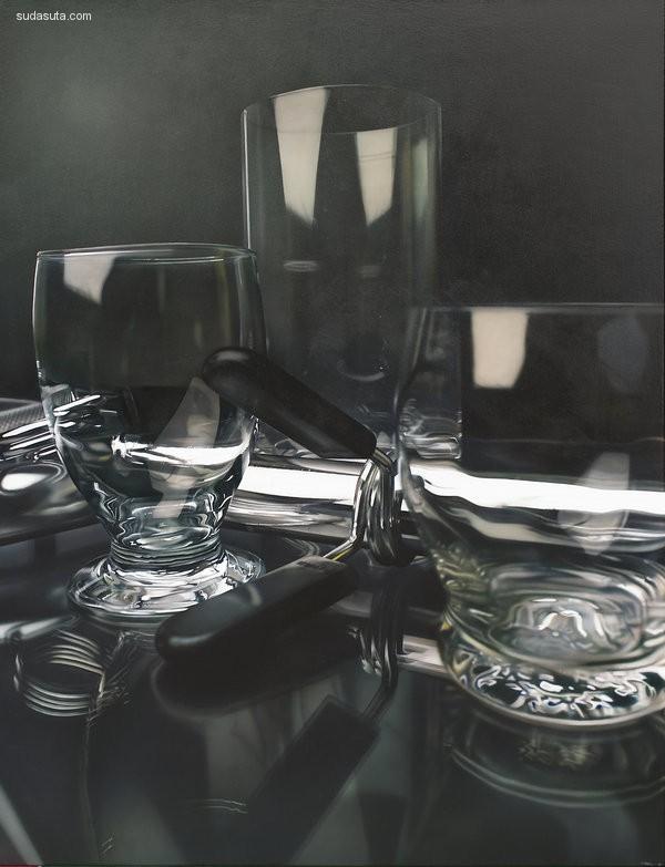 Tom Martin 超现实主义美食绘画欣赏
