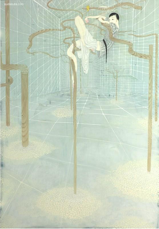 Tomoko Kashiki 艺术绘画欣赏